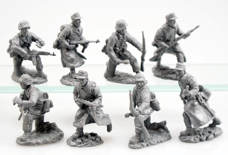 WWII German Soldiers Add-on Set