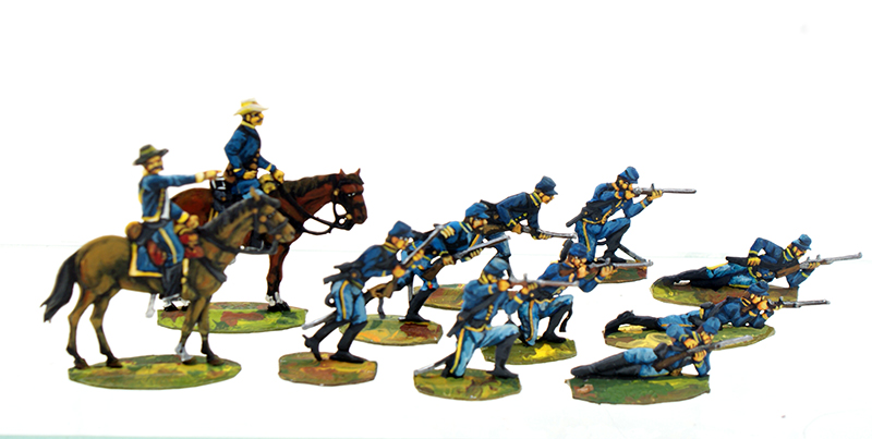 Union Cavalry - Dismounted