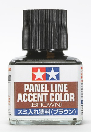 Panel Line Accent Color Brown 40ml Bottle
