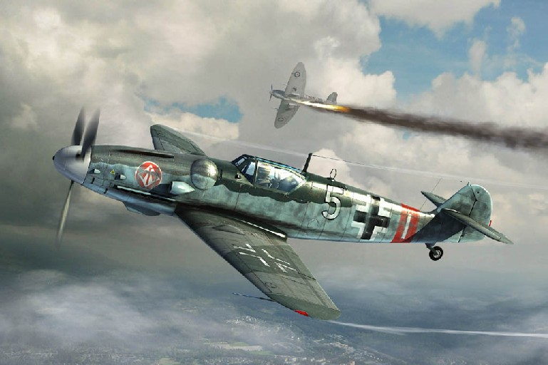Messerschmitt Bf109G6 German Fighter Late Version