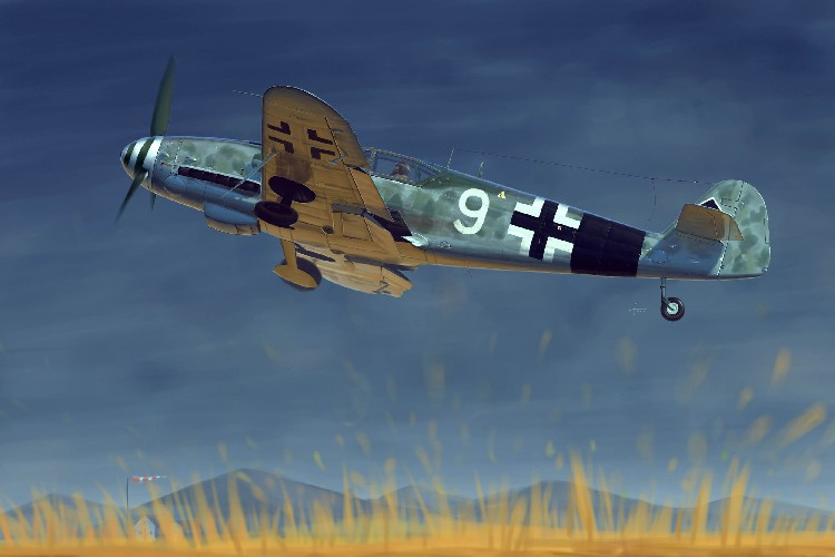 Messerschmitt Bf109G10 German Fighter
