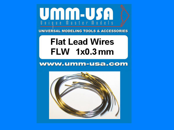 Flat Lead Wires 1.0 X 0.3mm