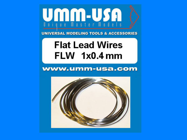 Flat Lead Wires 1.0 X 0.4mm