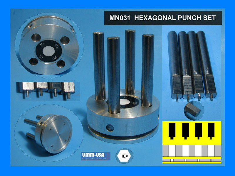 Hex Punch & Die Set