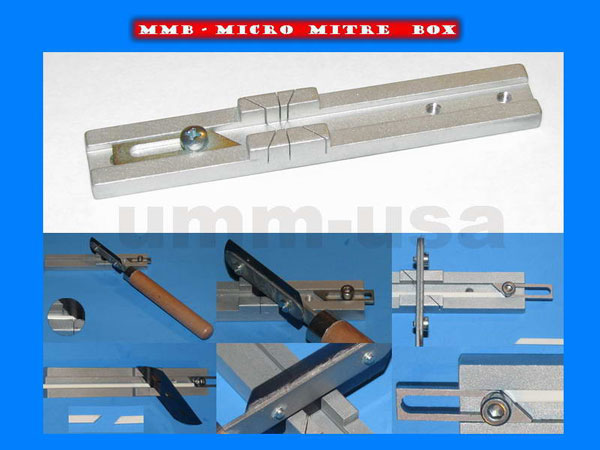 Micro Mitre Box - for MINI Saw Blades