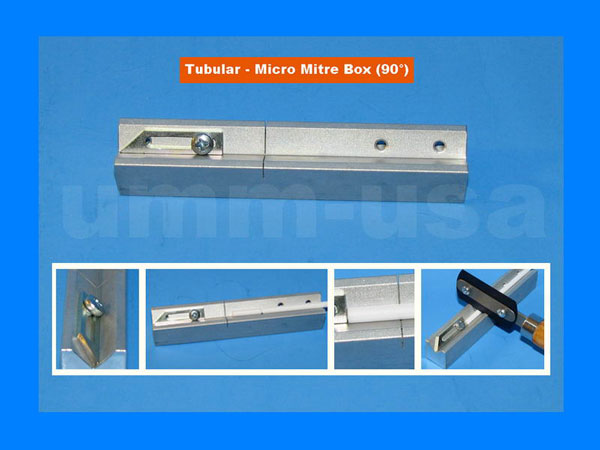 Tubular - Micro Mitre Box - for MINI Saw Blades