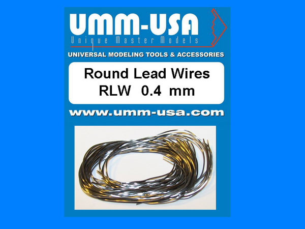 Round Lead Wires 0.4mm