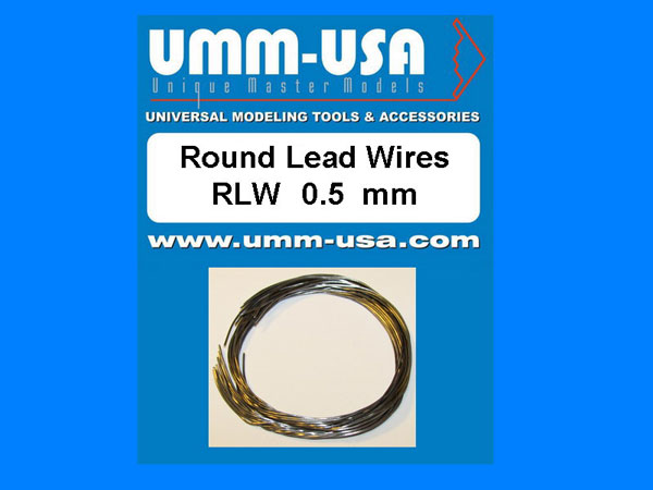 Round Lead Wires 0.5mm