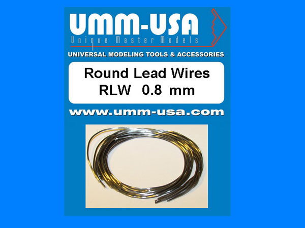 Round Lead Wires 0.8mm