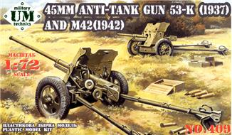 45mm Anti-Tank Guns � M42 Model 1942 & 53K Model 1937