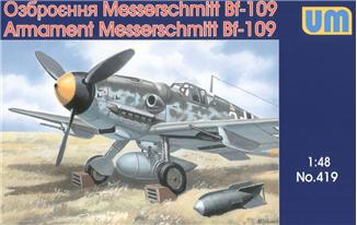 Armament Air Weapons & Equipment Set for Messerschmitt Bf109 Aircraft