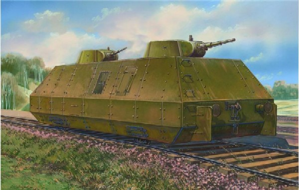 WWII Soviet OB-3 Biaxial Armored Car
