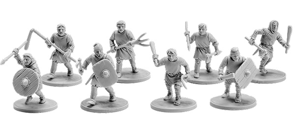 The Anglo-Saxons - Set 5 Geburs