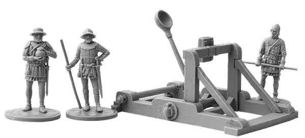 Hundred Years War - Medieval Catapult
