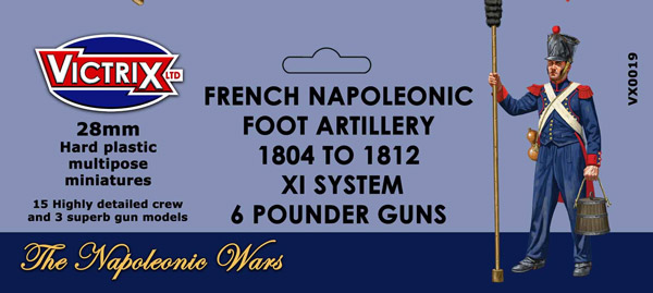 French Napoleonic Foot Artillery 1804-1812
