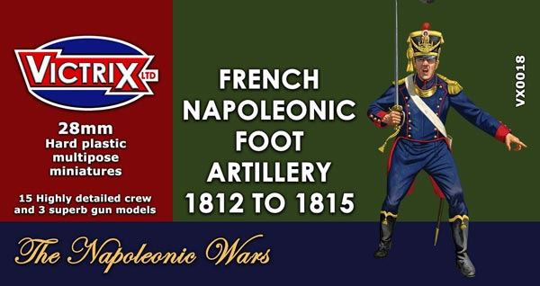 French Napoleonic Foot Artillery 1812-1815