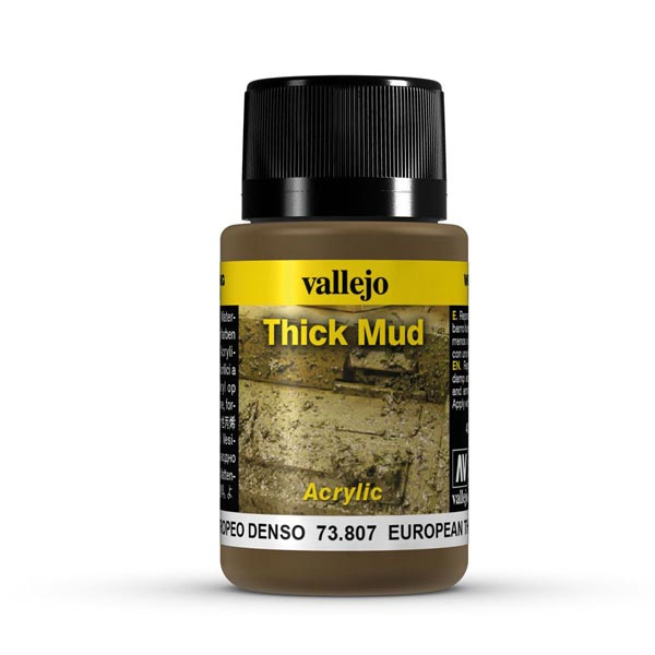 European Thick Mud Weathering Effect 40ml Bottle