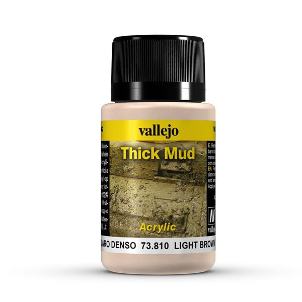Light Brown Thick Mud Weathering Effect 40ml Bottle