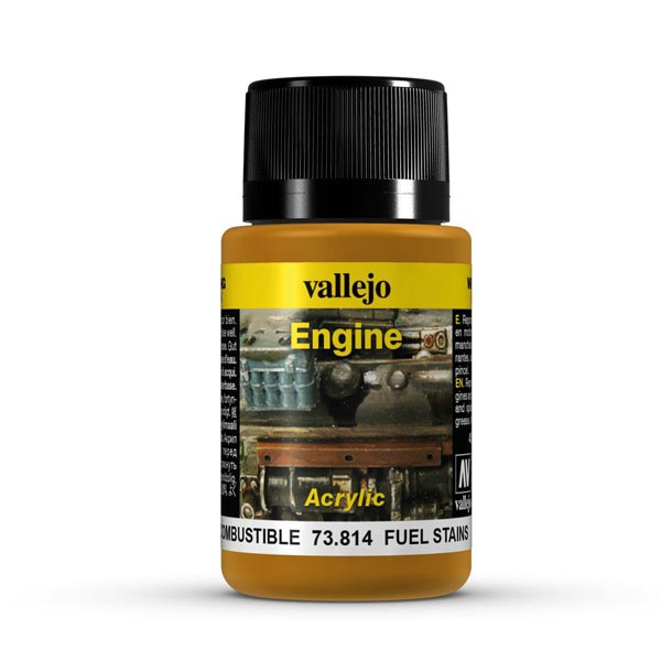 Fuel Stains Weathering Effect 40ml Bottle