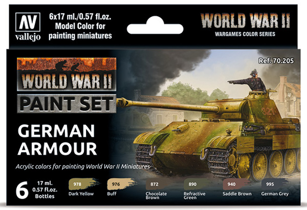 WWII Paint Set - German Armour