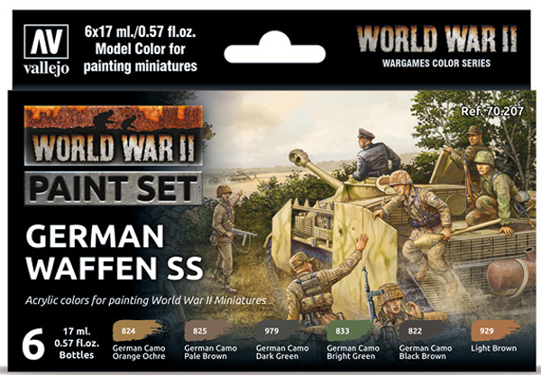 WWII Paint Set - German Waffen SS