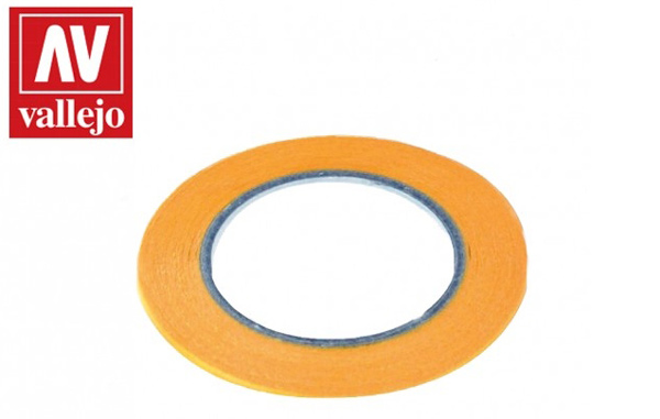 Precision Masking Tape 1mmx18m Twin Pack