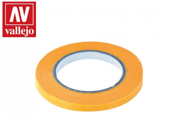 Precision Masking Tape 6mmx18m Twin Pack