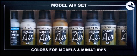 Bottle Demag D7Russia 1941 Model Air Paint Set (8 Colors)