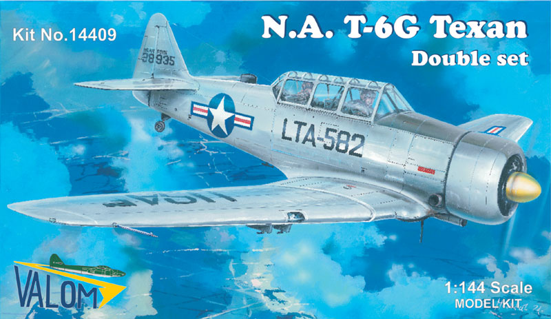 Valom N.A.T-6G Texan (Double Set - Silver Series)