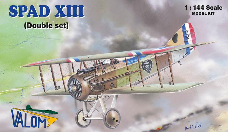 Valom 14422 1:144th scale model kit Bristol F2B vs Rumpler C.IV 4 kits in 1 box