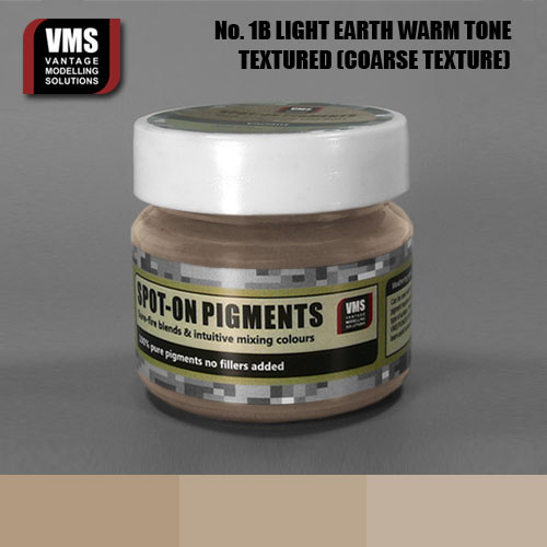 Spot-On Pigment- European Light Earth Warm Tone Coarse Texture Pigment