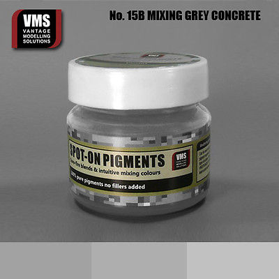 Spot-On Pigment- Mixing Grey XT Bright Concrete Pure Pigment