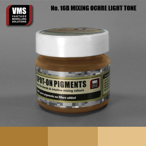 Spot-On Pigment- Mixing Ochres Light Pure Pigment