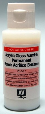 60ml Bottle Gloss Varnish