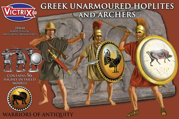 Ancient Greek Armored Hoplites & Archers