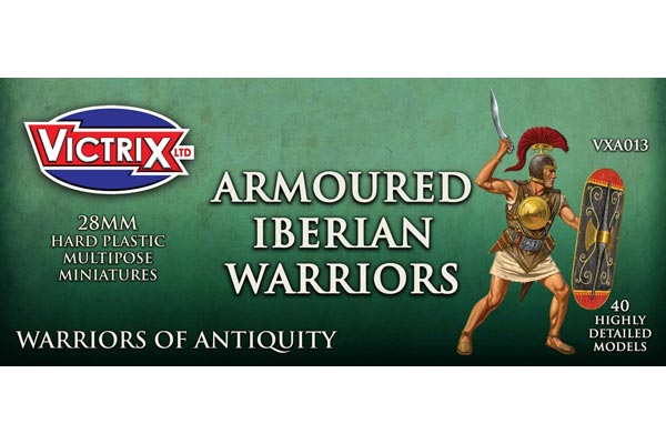 Ancient Iberian Armored Warriors