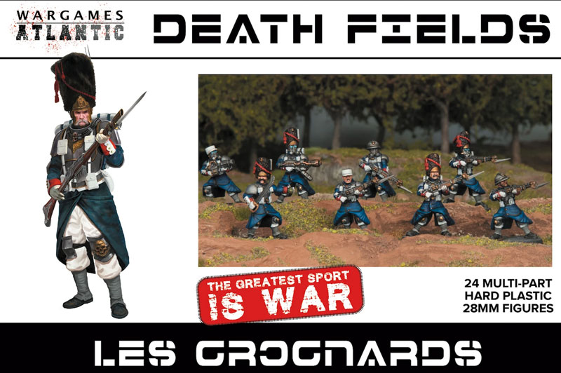Death Fields Les Grognards w/Weapons