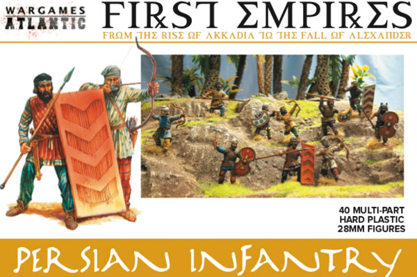 Persian Infantry Box Set