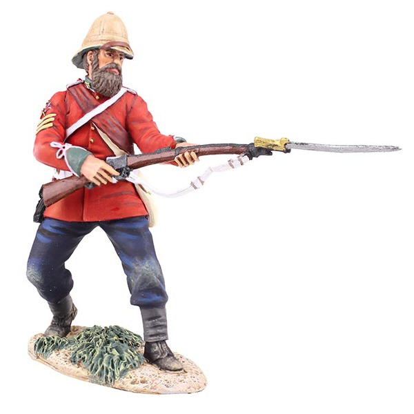 British 24th Foot Sgt. Bourne No.2, Parrying with Bayonet
