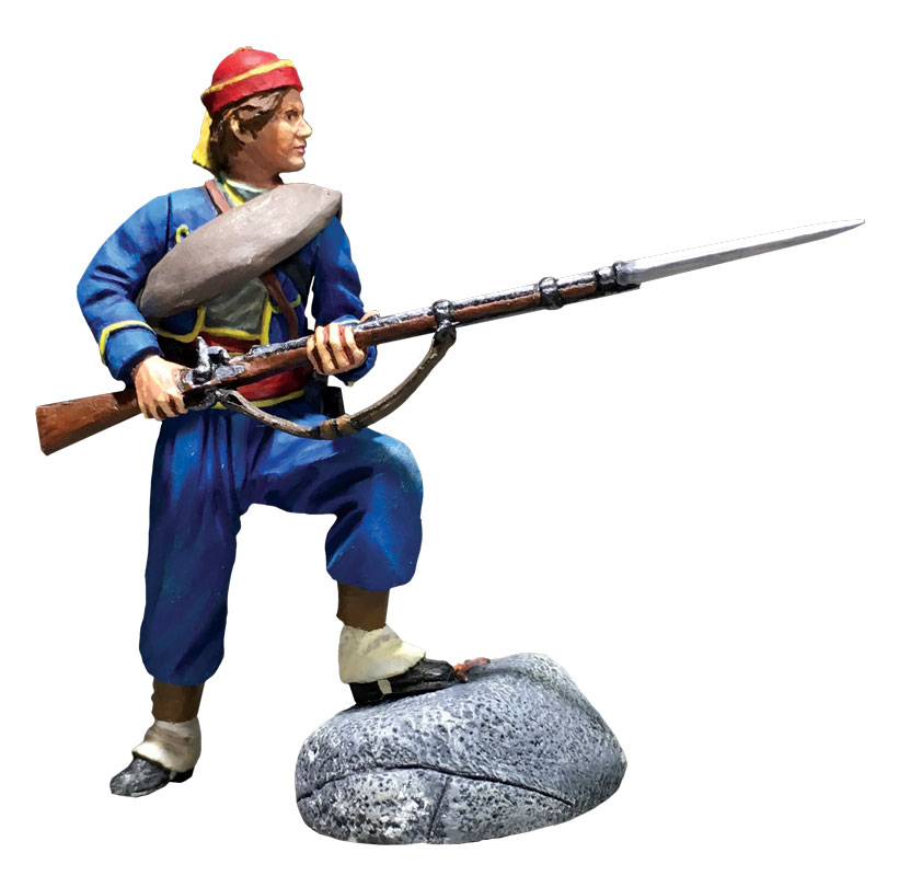 Union Infantry 146th NY Zouave Standing Defending No.1