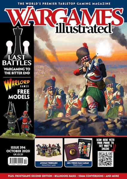 Wargames Illustrated Magazine, Issue 394 October 2020