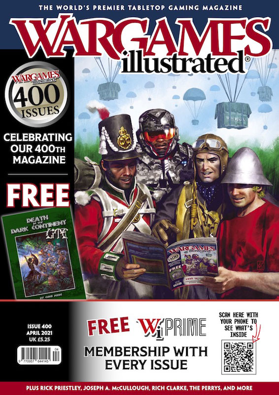 Wargames Illustrated Magazine, Issue 400 April 2021