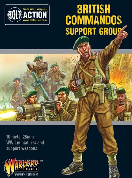 WWII British Commando Support Group
