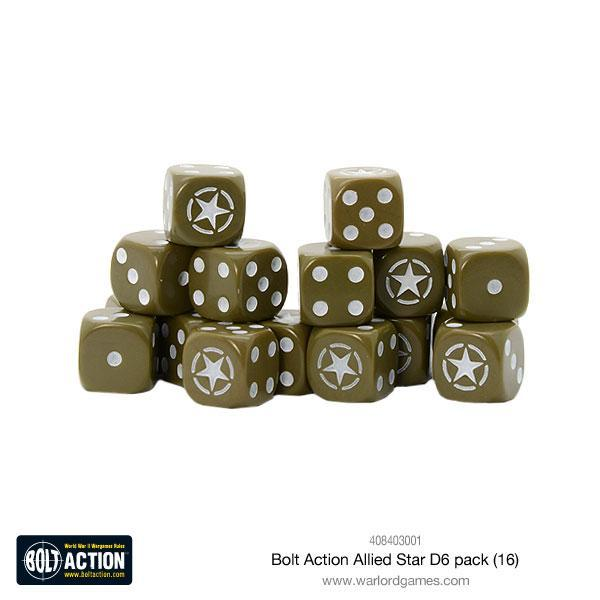 Bolt Action Allied Star D6