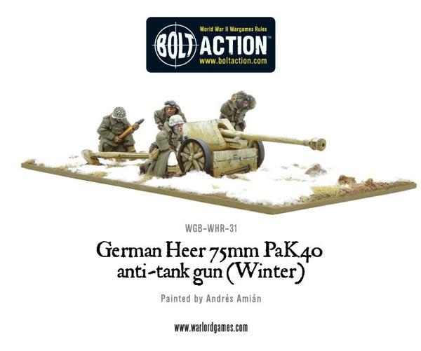 German 50 Mm Anti Tank Gun: Michigan Toy Soldier Company : Warlord Games