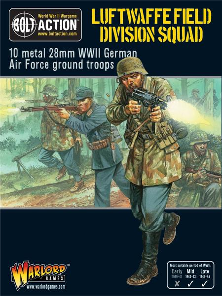 WWII Luftwaffe Field Division Squad