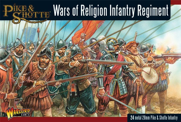 Wars of Religion: Infantry Regiment (24)