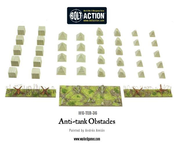 WWII Anti-Tank Obstacles