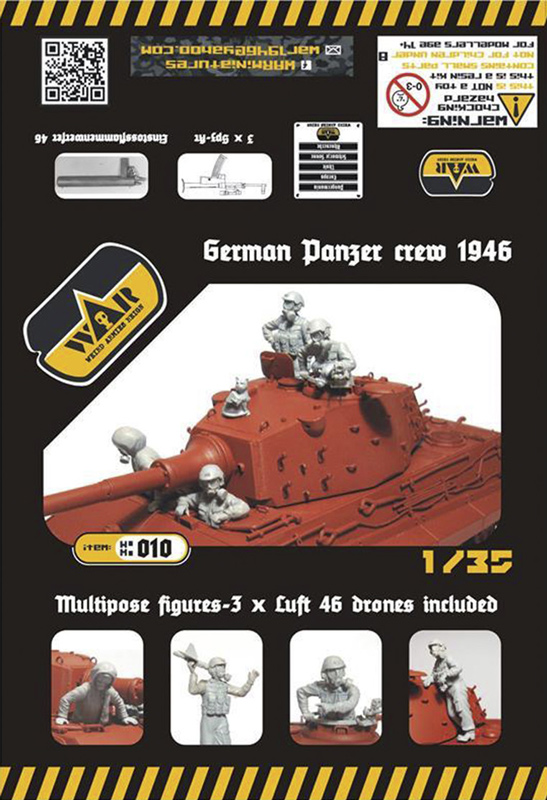 German Panzer Crew 1946