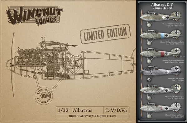 Albatros D.V Camouflaged - LIMITED EDITION